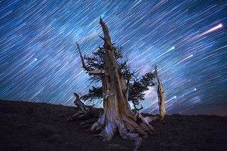 'Spinning Blue Marble' - White Mountains, California.