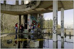 Open space (Matteo Bersani) Tags: consonno lecco brianza specchioriflessomirror acquawater boys ragazzi architecture architettura rovine ruderi sonyalphaitalia a58