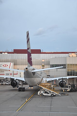 Turnaround: QR0002 LHR-DOH (A380spotter) Tags: turnaround airbus a330 300x a7aem shrawa qatar  qatarairways qtr qr qr0002 lhrdoh gate9 nine stand409 terminal4 terminalfour london heathrow egll lhr