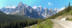 Banff National Park, Alberta, Canada - ICE(5)358-368 (photos by Bob V) Tags: panorama mountains rockies alberta banff rockymountains albertacanada banffnationalpark canadianrockies banffpark mountainpanorama