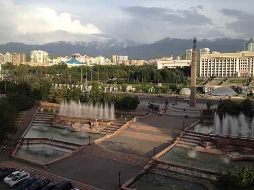 Platz der Republik, Almaty, Kasachstan