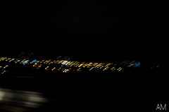 Night and Streets (anamariansilva) Tags: street brazil sp são paulo lightpainting canon t3i night noite luzes lightroom light speed shadows dark