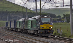 68005 68021 4S43 (barry.young10) Tags: rail tesco services direct abington drs 68021 68005 4s43