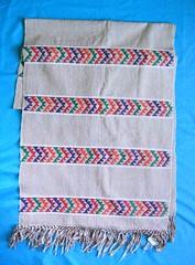Mixtec Rebozo Oaxaca Coast Mexico (Teyacapan) Tags: costa mexico oaxaca textiles mixtec weavings rebozo sanjuancolorado