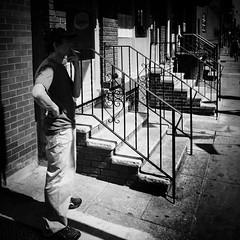 Need a light (columnsovsleep) Tags: dark mobilephotography columnsovsleep iphone iphone6plus square squareformat hipstamatic bnw iphoneography imovie shotoniphone iphone6 streetphotography blackandwhite philadelphia
