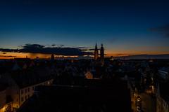 blue hour (vindelikus) Tags: pfeifturm sunrise moritzkirche sebastianskirche sonnenaufgang franziskanerkirche ingolstadt neuesschloss matthuskirche bluehour