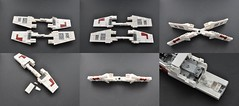 T-65 X wing Instructions (wings) (Inthert) Tags: star fighter ship lego luke r2d2 xwing instructions wars skywalker moc t65 sfoils
