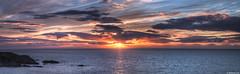 Summer solstice sunset 2016; Portknockie, Moray Firth, Scotland (Michael Leek Photography) Tags: light sunset sea sun weather clouds landscape evening coast scotland highlands solstice coastline hdr highdynamicrange moray eveninglight morayfirth scottishlandscapes scottishcoastline scotlandslandscapes thisisscotland awesomescotland michaelleek michaelleekphotography
