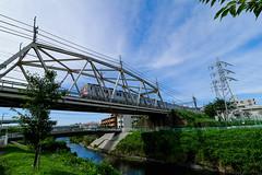 IMG_0405-1.jpg (yagi-s) Tags: japan river jp  kanagawa ichigao tokyu    denentoshiline yokohamashi  aobaku tsurumiriver   8500   yamotoriver  tokyuseries8500