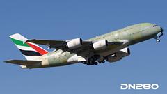 Emirates A380-842 msn 225 (dn280tls) Tags: emirates msn 225 a380842 fwwsq a6eum