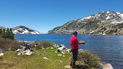 20160625_122329 (lovz2hike) Tags: lovz2hike duck lake pass trail barney pika mono county mammoth lakes coldwater campground fishing hiking backpacking wonderlust fresno inyo sierra nevada john muir wilderness