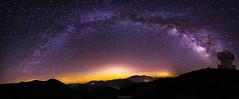Milkyway Panorama (SotirisS.) Tags: longexposure sky panorama night canon greece 28 lightroom milkyway 6d 14mm samyang