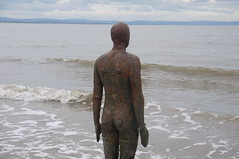 On The Shore (jpcrocks450) Tags: crosby liverpool statue art artinstallation beach seaside anotherplace antonygormley