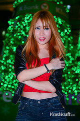 Want Me For Christmas? (krashkraft) Tags: beautiful beauty thailand pretty bangkok gorgeous allrightsreserved 2014 krungthepmahanakhon centralworld ratchaprasong krashkraft พริตตี้ โคโยตี้ puringalz มอเตอร์โชว์เซ็กซี่