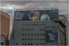 Milly's billboard (RissaJT_23) Tags: millytapper melissatapper samsung samsunggalaxys7 sponsorship olympian paralympian olympics paralympics rio2016 flindersstreet melbourne billboard tabletennis sport canon canon6d canoneos6d canon70200mm australianolympiccommittee australianparalympiccommittee aoc apc