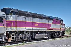MBTA Locomotive 1033 (robtm2010) Tags: hyannis massachusetts usa canon t3i newengland rr railroad trains mbta massbaytransitauthority locomtive engine no1033 capecod cape