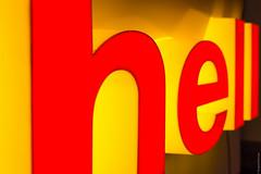 hell (loop_oh) Tags: hell shell deutschland europa frankfurt frankfurtammain hessen luminale main metropole stadt luminous advertising luminousadvertising leuchtreklame reklame nicht light licht