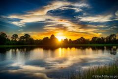Florida Gold (DonMiller_ToGo) Tags: sunsetmadness sunsets nature reflections goldenhour d5500 lake florida hdr 3xp millerville onawalk sky sunsetsniper hdrphotography outdoors sun nik