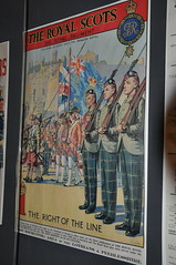 Royal Scots Recruitment Poster - Royals Scots Museum - Edinburgh Castle (Rob Lovesey) Tags: royal scots recruitment poster royals museum edinburgh castle