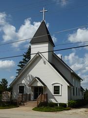 Lily Lake, IL, Congregational Church (Mary Warren (8.7+ Million Views)) Tags: lilylakeil architecture building historic church congregationalchurch