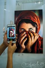 Steve McCurry (auxiele18) Tags: steve mccurry mostra fotografia life artist photografy phots photo reggia di venaria reali torino turin art foto sharbat gula la ragazza afghana campo profughi nasir bagh peshawar pakistan