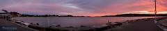 Gosford Panorama (TMCiantar) Tags: sunset sun gos gosford nsw australia panorama panoramic pano nikon mynikonlife rocks sea ocean nice longexposure clouds cloud boats