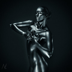 Silver lady (n_lev44) Tags: ifttt 500px young adult athletic attractive beautiful beauty body buttocks copy space dark fitness girl glamorous gorgeous healthy ideal metal minimalism model naked nude paint perfect posing precious sexy shiny silver skin sport statue strong woman copyspace