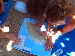Sometimes even I have to use a map (egotoagrimi) Tags: map ikaria friends hiking yoga camping forest aegean greece agrimi july hikingtrip