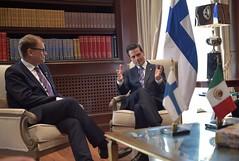 Reunin con el Primer Ministro de Finlandia, Juha Sipil (Presidencia de la Repblica Mexicana) Tags: presidente presidencia epn enriquepeanieto finlandia primerministro