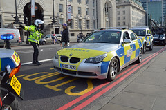 SH10JZX (Emergency_Vehicles) Tags: sh10jzx bmw city london police film car the last knight transformers 5 location westminster bridge high command production e75