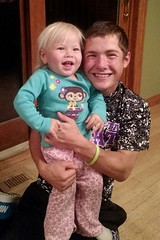 Uncle David & Bella (The Kingery Family) Tags: kingery family bluegrass baseball singing music uncle neice smiles happy