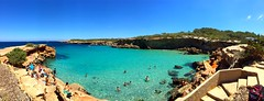 Cala Compte (chrysalismo) Tags: panoramic panormica iphone iphone6 summer verano vida life hapiness felicidad mar sea azul blue calacompte espaa spain eivissa ibiza beach playa