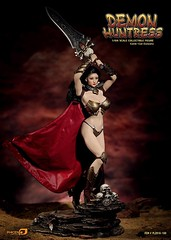 PHICEN PL2016-100 Demond Huntress EXPO Ver - 06 (Lord Dragon ) Tags: 16scale 12inscale onesixthscale actionfigure doll hot toys phicen seamless femalebody