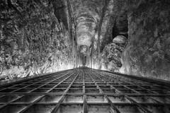Spooktacular (johnnyarmaosphotography) Tags: blackandwhite monochrome malta rabat stpaul catacombs catholicism hdr leadinglines vanishingpoint
