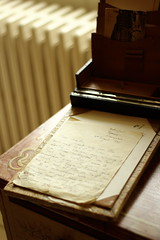 Dear Charlie (6079 Jones,P) Tags: paper yongnuo50mmf18 mottisfont national trust romsey hampshire img4380 letter writing pen handwriting russell 1937 desk stationary