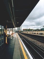 157/366 (abnormalbeauty.) Tags: railway train tube underground platform hammersmith rail yellowline perspective
