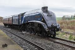 60007 Sir Nigel Gresley At Hellifield 28/10/2014 (craigelias1) Tags: train steam sir a4 nigel gresley hellifield