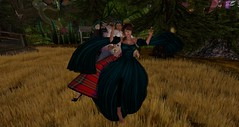Avilion - Conga (Osiris LeShelle) Tags: life fun medieval musical fantasy secondlife hour conga second bard bards roleplay avilion