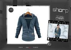 "sharp by [ZD] - ""Duke"" Jacket (shine & sharp by [ZD]) Tags: life urban man male men fashion by demo cool shine dress place mesh market duke sharp sl jacket dresses second mann marketplace mp mode mnner jacke kleidung menswear kleid mnnlich zd inworld zddesign"
