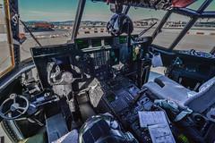 Cockpit of RAF C130C5P ZH883 (David Parody) Tags: david m parody 2014