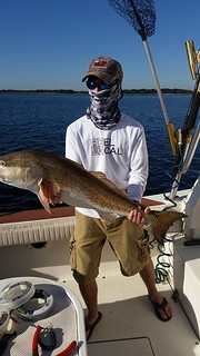 Redfish fishing Amelia Island
