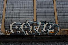 Batle (Revise_D) Tags: graffiti tags graff tagging freight revised fr8 batle bsgk 663k benching batle663 fr8heaven fr8bench benchingsteelgiants ripbatle