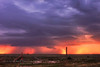 Crazy Night (Chains of Pace) Tags: sunset storm oklahoma landscape unitedstates sony prairie panhandle oldwest guymon