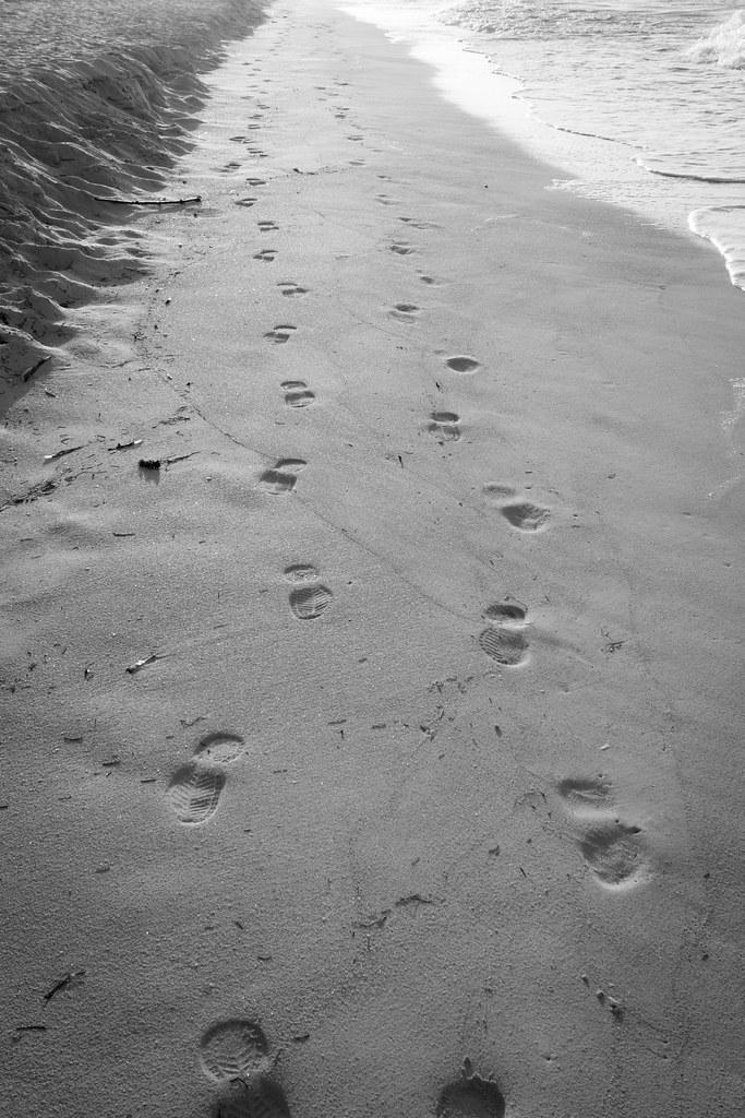 Les pas perdus - Lost foot print