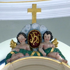 Sindersfeld Kirche St. Matthaeus (blasjaz) Tags: germany kirchen jugendstil hesse kirchhain jugendstilkirche dmctz31 blasjaz kirchenimkreismarburg sindersfeld sindersfeldkirchhain