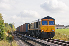 IMG_5745 (Kev Gregory) Tags: west leaving hall october with no 66 class heads service behind gregory kev 13th felixstowe 1017 2012 diverted hams intermodal elmswell whitemoor gbrf 66730 4m23