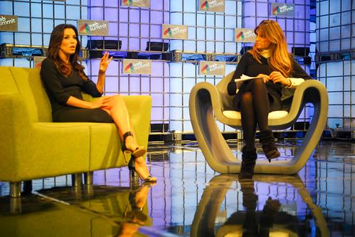 Desperate Housewives Actress Eva Longoria At Web Summit 2014 Ref-1165