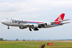 LX-VCH Cargolux Airlines International Boeing 747-8R7F (carlowspotter) Tags: uk england english plane airplane airport aviation jets jet aeroplane cargo east boeing ema 747 luxemburg cargolux freighter midlands spotter 748 747f 74f 7478 avgeek 747800 egnx 7478f 74y 7478r7f lxvch aerosexual