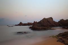 Just entre Blanes i Lloret (Albert T M) Tags: catalonia catalunya costabrava cala platja blanes lloretdemar catalogne mediterrani llargaexposició calatreumal platjasantacristina