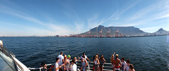 Table Mountain View (snkoigi) Tags: ocean sea yacht capetown seventhwonder